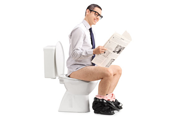 You're probably pooping wrong