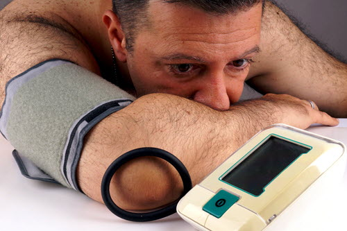 Does high blood pressure wreck men's desire?