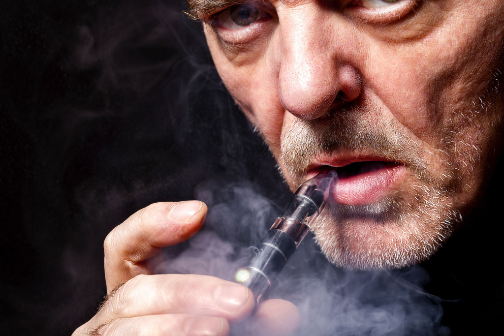 Vaping better than cigarettes, but not harmless